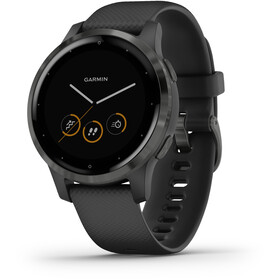 Garmin Vivoactive 4S Smartwatch, black/slate grey